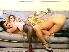 Perfect slim lesbians going naughty