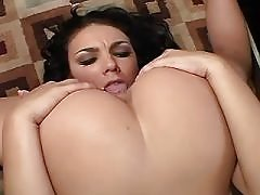 Cheeky lesbian makes passionate sex